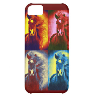 Wild horses collage iphone five cover design