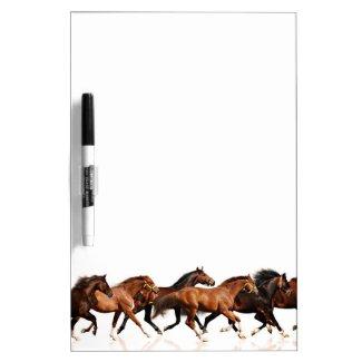 Wild Horses Dry-Erase Board