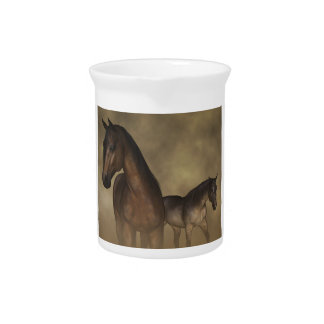 Wild Horses, Fast Friends Drink Pitcher