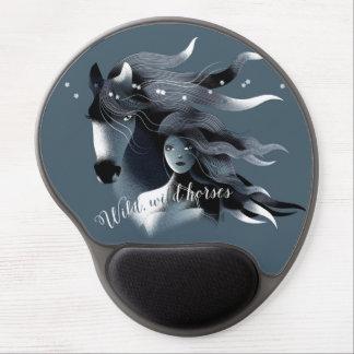Wild Horses Gel Mousepad