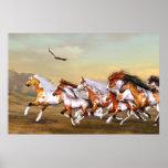 Wild Horses Herd Poster