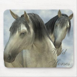 Wild Horses - horse, animal, wildlife Mouse Pad