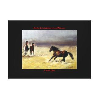 Wild horses/horses Digs them salvaxes/Wild Canvas Print