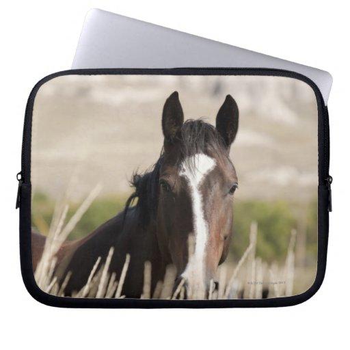 Wild horses in South Dakota Laptop Sleeve