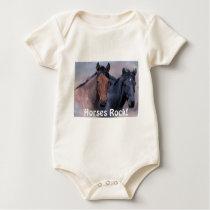 Wild Horses Infant Creeper
