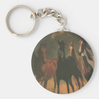 Wild Horses Key Chain