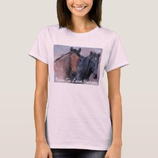 Wild Horses Ladies T-Shirt