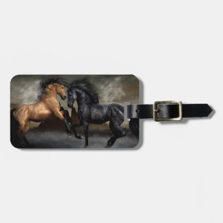 Wild Horses Tags For Bags