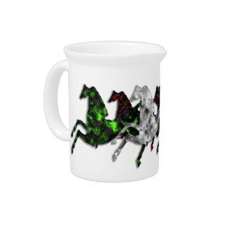 Wild Horses Mixture Beverage Pitcher