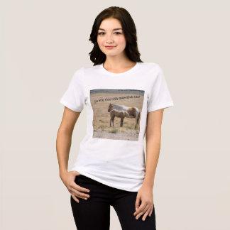 Wild Horses Nursing T-Shirt