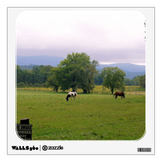 Wild Horses of Cades Cove Wall Decal