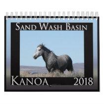 Wild Horses of Sand Wash Basin,  Colorado Calendar