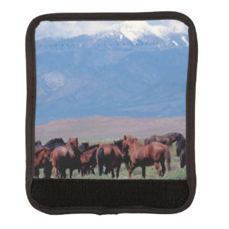 Wild Horses Out West luggage handle wrap
