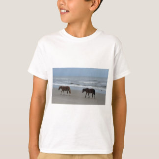 Wild Horses Outer Banks T-Shirt