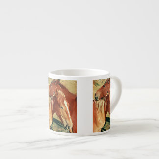 Wild Horses Painting Espresso Cup