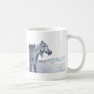 Wild Horses Painting  'Taking The Air III' Coffee Mug