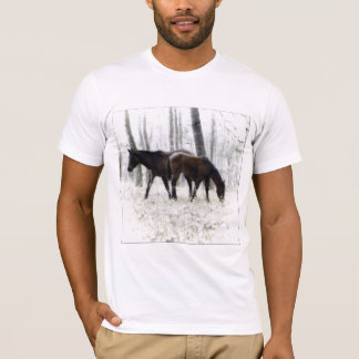 WILD HORSES PHOTOGRAPH T-SHIRT
