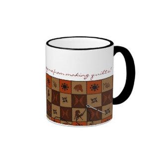 Wild Horses Quilting Mug Mugs