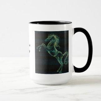 Wild Horses Ringer Mug