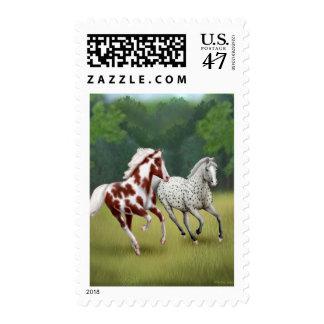 Wild Horses Running Free Postage