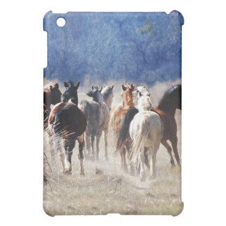 Wild horses running iPad mini cases