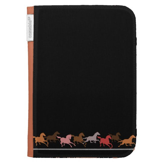 Wild horses running kindle cover
