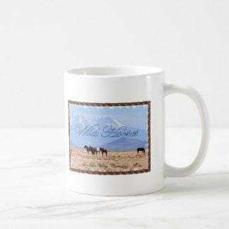 Wild Horses - San Luis Valley, Colorado - Cup Classic White Coffee Mug