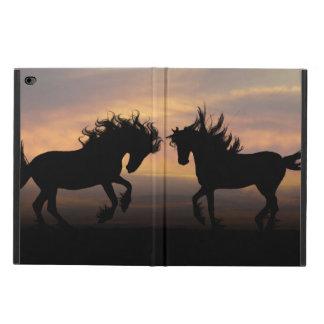 Wild Horses Silhouette Powis iPad Air 2 Case