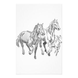 Wild Horses Stationery
