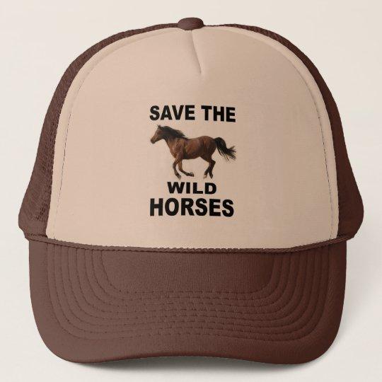 098acc2ab1e WILD HORSES TRUCKER HAT