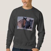 Wild Horses Unisex Adult Sweatshirt