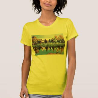Wild Horses Womens T T Shirt