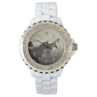 Wild horses wristwatch