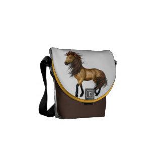 Wild Horses Zero Messenger Bag