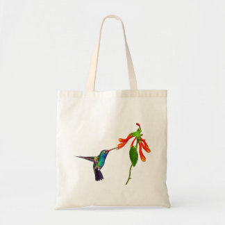Wild Hummingbird Bird-lover's Art Series Tote Bag