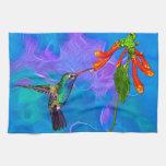 Wild Hummingbird Bird-lover's Art Series Towel