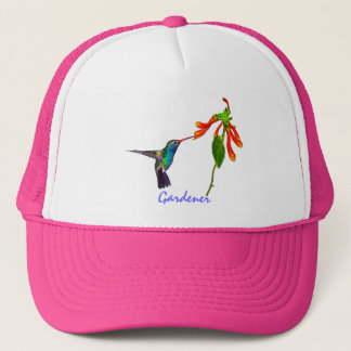 Wild Hummingbird Bird-lover's Art Series Trucker Hat