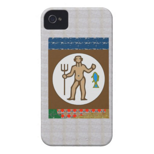 Wild HUNTER Fisherman Fish Arrow Bow GIFTS Bless iPhone 4 Case