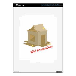 Wild Imaginations iPad 3 Decals