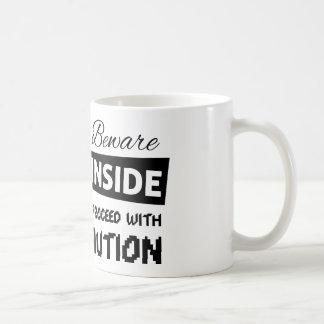 Wild inside super cool and funny coffee mug