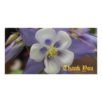 Wild Iris Thank You Card
