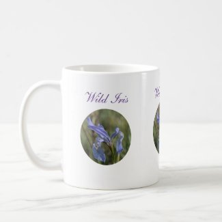 Wild Iris Wildflower Coffee Mug
