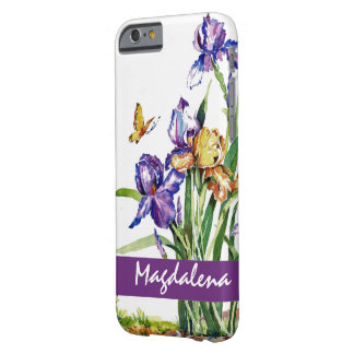 Wild Irises Barely There iPhone 6 Case
