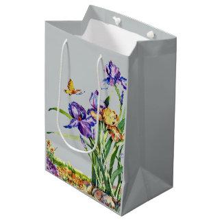 Wild Irises Medium Gift Bag