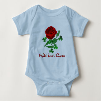 Wild Irish Rose Baby Bodysuit