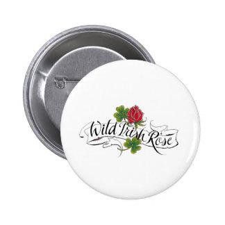 Wild Irish Rose 2 Inch Round Button