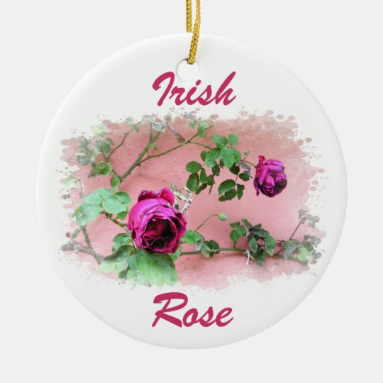 Wild Irish Rose Ornament