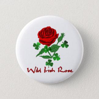 Wild Irish Rose Pinback Button