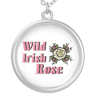Wild Irish Rose Silver Plated Necklace