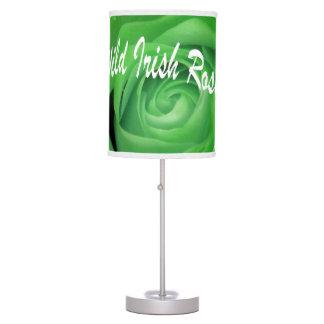 Wild Irish Rose Table Lamp